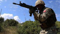 Fırat Kalkanı Harekatı'nda görev alan asker şehit oldu