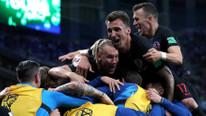 Hırvatistan Arjantin'i dağıttı !