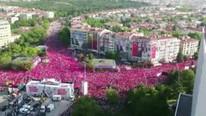 İnce'nin Ankara mitingine kaç kişi katıldı ?