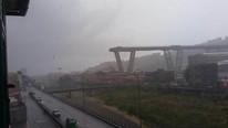 İtalya'daki köprü faciasından şok görüntüler