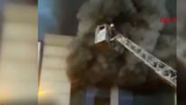 Mobilyacılar sitesinde yangın: 5 işçi ölü