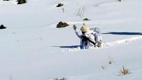 Komandolar 1 metre karda operasyonda