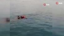 Kadıköy'de can pazarı ! Genç kadını Çevik Kuvvet denize atlayıp kurtardı