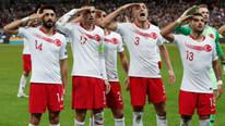 Fransız rejisi, Türkiye'nin asker selamlı gol sevincini yayınlamadı!