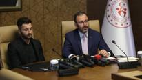 Mehmet Muharrem Kasapoğlu'ndan Enver Cenk Şahin'e destek
