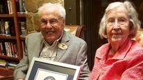 Guinness'a giren yaşayan en yaşlı evli çift mutluluğun sırrını açıkladı