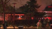 Marmara Üniversitesi'nde yangın !