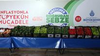 Ucuz sebze ayağınıza gelecek ! İstanbul'da bugün başladı