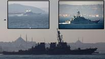 Karadeniz yarışı... ABD ve Rus gemileri harekete geçti !