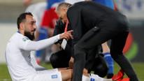 Galatasaraylı Kostas Mitroglou sakatlandı