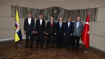İstanbul Emniyet Müdürü Mustafa Çalışkan Fenerbahçe'yi ziyaret etti