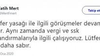 Fatih Mert'ten transfer yasağı açıklaması