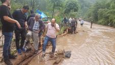 Trabzon sular altında ! Su taşkını can aldı: 3 ölü