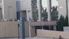 Çağlayan Adliyesi'nde silah sesleri: Polis alarma geçti !