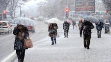 Meteoroloji'den uyarı geldi ! Sağanak yağış ve kar geliyor