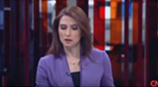 CNN Türk sunucu Başak Şengül'ün zor anları