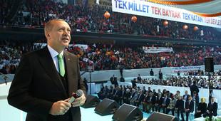 Erdoğan, AK Parti'nin seçim beyannamesini açıkladı
