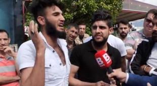 ''Kafa kesmek istiyorum'' diyen Suriyeli sığınmacı gözaltında