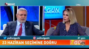 AK Partili Mehmet Metiner canlı yayında ''Ekrem İmamoğlu'' yasağını unuttu