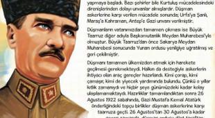 Diyanet Atatürk'ü ''badem bıyıklı'' yaptı