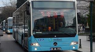 Tekirdağ'da toplu ulaşım yasaklandı