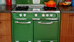 Mutfaklara retro dokunuş