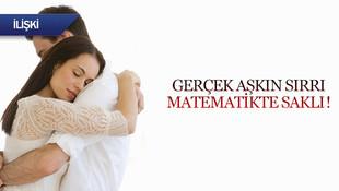 Gerçek aşkın sırrı matematikte saklı!