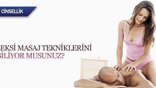 Seksi masaj teknikleri