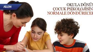 Okula dönüş çocuk psikolojisini normale döndürecek