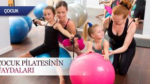 Çocuk pilatesinin faydaları