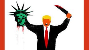 Der Spiegel'in Trump kapağı tartışma konusu oldu