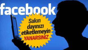 Facebook'ta dayınızı etiketleyip şifrenizi ele vermeyin