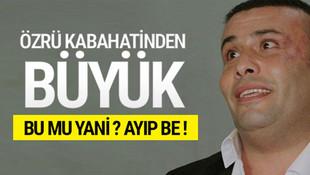 Küfürbaz Ganyotçu'dan garip savunma: Erdoğan'a aşığım