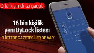 MİT 16 bin kişilik yeni ByLock listesi yolladı