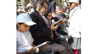 Şanlıurfada Kitap Okuma Şenliği