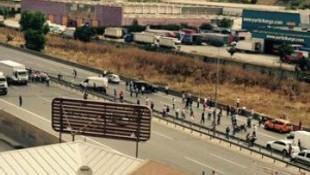 İstanbul trafiğini karıştıran kaza !