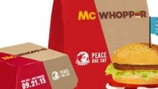 Burger King ve Mc Donald's'tan ilginç karar