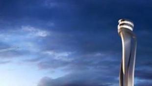 İşte 3. havalimanının kulesi