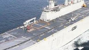 Türk ordusunun en büyük savaş gemisi yolda !