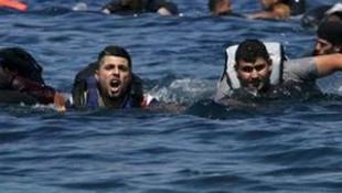 Göçmenleri ölüme terkeden caniler...