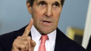 Kerry'den Türkiye sınırıyla ilgili açıklama