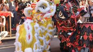 Avustralya'da Çin Yeni Yılı Kutlamaları