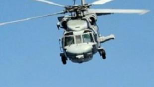 Ege'de askeri helikopter düştü: 3 ölü