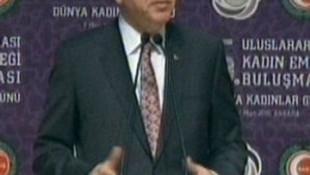 Erdoğan: ''Kadını özgürleştirmekten anladıkları..''