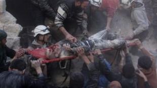 Rusya'dan Suriye'de Yerleşim Bölgesine Saldırı