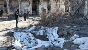Teröristlerin Zarar Verdiği Tarihi Cami