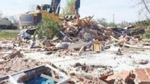 Google Maps'e bakınca yanlış evi yıktılar !