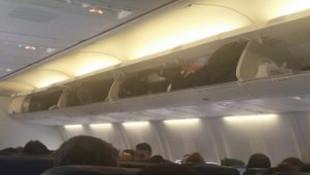 Diyarbakır-İstanbul uçağında dehşet dakikaları
