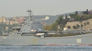 Rus savaş gemisinde dikkat çeken ayrıntı !