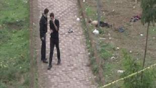 İstanbul'un göbeğinde ceset şoku !